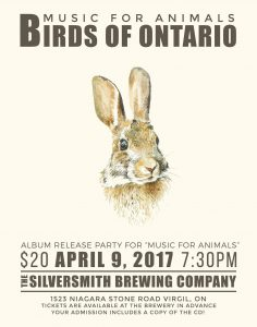 Birds of Ontario Poster