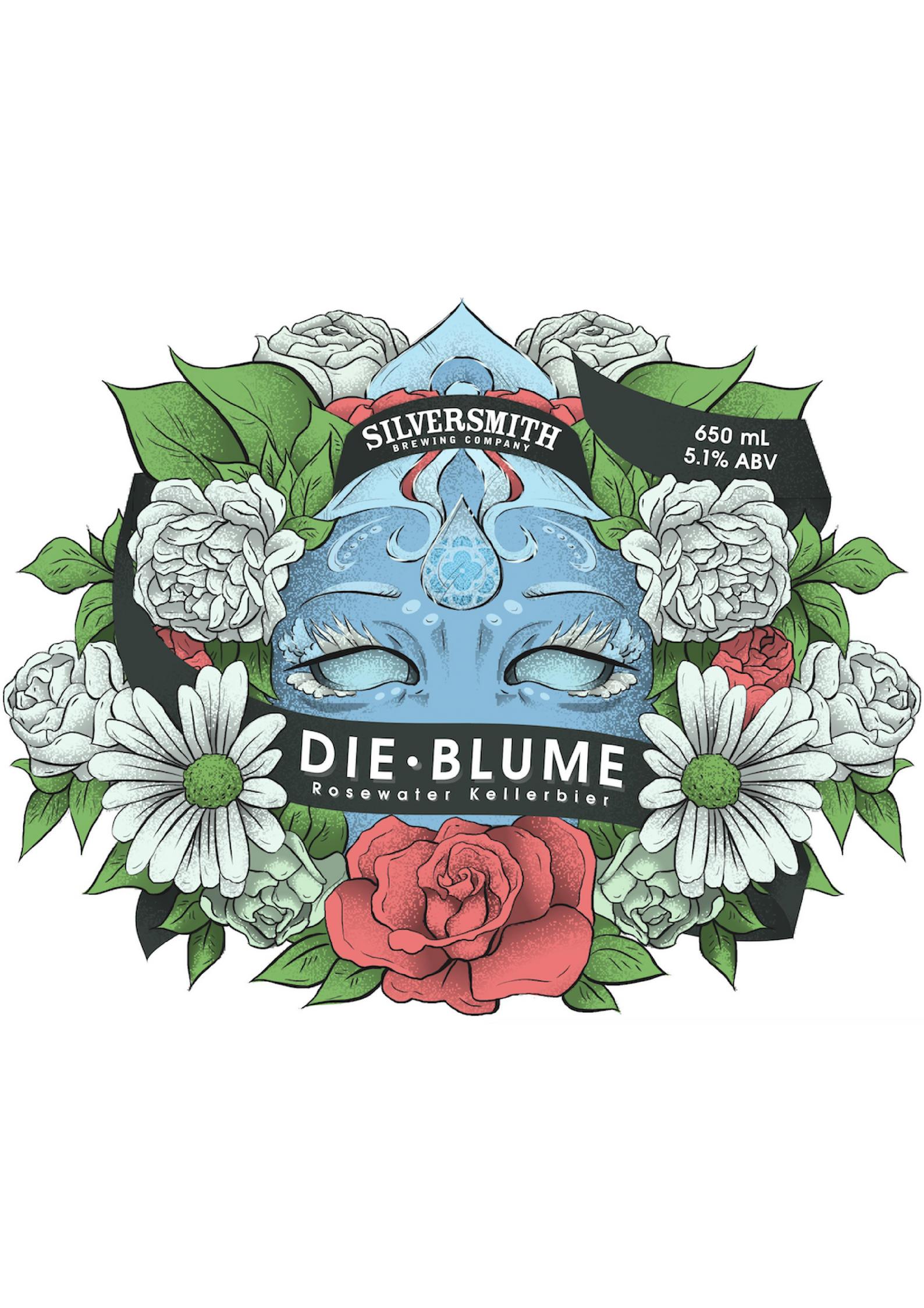 Die Blume _ Kellerbier - Web Label